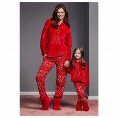Catherines 1135 Kışlık Polar Kız Çocuk Pijama Takı...