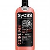 Syoss Şampuan Curl Me 550 Ml (3lü Alımlarda Tarak Hediyeli)