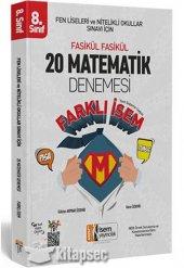 8. Sınıf Lgs Farklı İsem Matematik 20 Deneme İsem