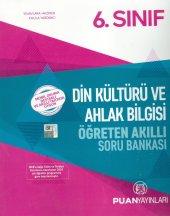 6. Sınıf Din Kültürü Ve Ahlak Bilgisi Öğreten Akıllı Soru Bankası Puan Yayınları
