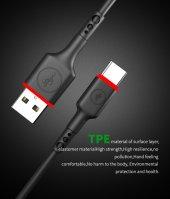 Akekıo Uc 04 2,4a Micro Güçlendirilmiş Şarj Kablo