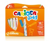 Carioca Süper Baby Süper Yıkanabilir Keçeli Boya Kalemi 12li