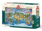 Art Puzzle Dünyadan Renkler 260 Parça Puzzle