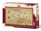 Art Puzzle Piri Reis Haritası 1000 Parça Puzzle
