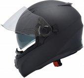 Yohe Ff 970 Mat Siyah Motosiklet Kaskı