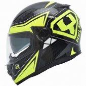 Yohe Ff 970 Sarı Siyah Motosiklet Kaskı