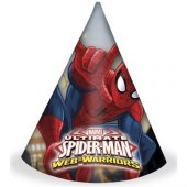 Ultimate Spiderman Külah Şapka 6 Adet