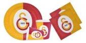 24 Kişilik Doğum Günü Partisi Lisanslı Galatasaray Parti Seti