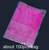 100 Lü Fuşya Tüy Balon İçi Tüy Şeffaf Balon İçi Süsleme
