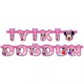 Minnie Mouse İyiki Doğdun Yazı Doğum Günü Minili İyiki Doğdun Min