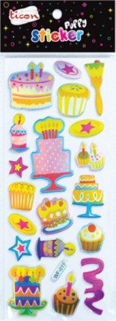 Ticon 138043 Sticker Puffy Tps 13