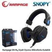 Snopy Rampage Sn R4 Mikrofonlu Kulaklık Siyah