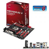 Asus Intel Maximus V Formula Assassing C3 Z77 Ddr3 1600 Vga Glan Hdmı Raid 0,1,5 16x 1155p + Game