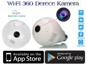360 Derece Panoramik Wi Fi Ampul Guvenlik Kamerası