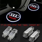 Audi A3 2003 2013 Kapı Altı Led Logo Aydınlatma Ghost Shadow