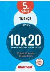 5. Sınıf 2. Dönem Türkçe 10x20 Kazanım Pekiştirme Denemeleri Seti