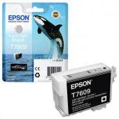 Epson T7609 C13t76094010 Açık Açık Siyah Orjinal Kartuş