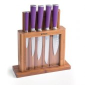 Emsan Matriks 7 Parça Bıçak Seti Mor