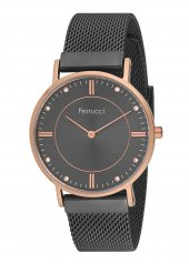 Ferrucci Fc11015h.06 Hasır Kordonlu Kadın Kol Saati