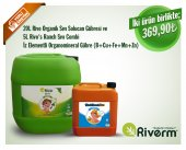 Riverm 20l Rivo Sıvı Solucan Gübresi 5l Rivos Ranch Combi