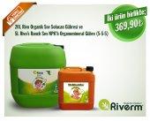 Riverm 20l Rivo Sıvı Solucan Gübresi 5l Rivos Ranch Npk