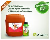 Riverm 20l Rivos Ranch Sıvı Black Essence 1l Sıvı Solucan Gübresi