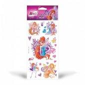 Winx Puffy Sticker 12,4x23,5 Cm