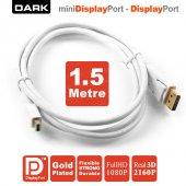 Dark 1.5m Mini Display Port Display Port Kablo Çoklayıcı Dk Cb Dpxmdpl150