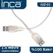 ınca 1.5m Usb2.0 Uzatma Kablosu Iuz 01