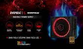 Rampage 850w 80+plus Gold Rgb Led Tam Modüler Güç Kaynağı Rgb 850