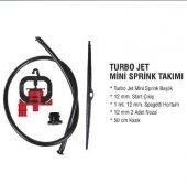 Turbo Jet Mini Sprink Takımı Sera Sulama