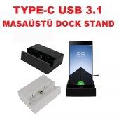 Usb 3.1 Type C Uyumlu Dock Stand Masaüstü Şarj Aleti