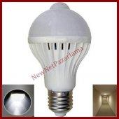 Newnet Hareket Sensörlü Led Ampul Beyaz 9w Beyaz E27