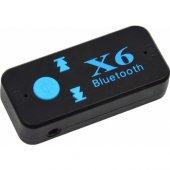 Bluetooth Müzik Alıcısı 3.5 Mm Aux Adaptör Araç Kiti 3in1 Cybe