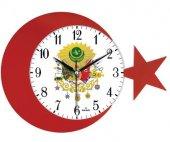 Duvar Saati Ayyildiz Osmanli Arma Duvar Saati