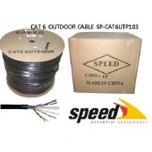 Speed Cat6 Utp 23awg 305m Outdoor Cca Kablo (Double Pvc+pe Outdoo