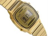 Casio La670wga 9df Gold Retro Model Ersa Garantili