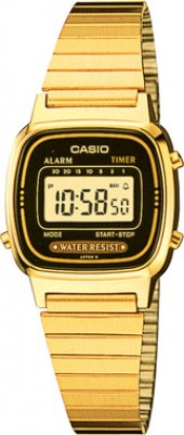Casio La670wga 1df Retro Ersa Garantili Gold Model