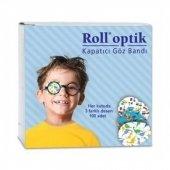 Roll Optik Kapatıcı Göz Bandı 100lü Mavi