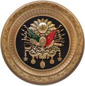 56 Cm Swarovski Taşlı Osmanlı Devlet Arması Tablo