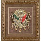 Osmanlı Devlet Arması Tablo Çerçeve 70x75 Cm