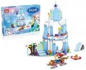 Karlar Ülkesi Frozen 836 Parça Lego Seti Eğitici Oyuncak Seri Plastik Oyuncak Seti Lego Puzzle