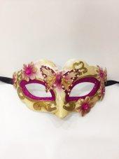 Mor Yılbaşı Maskesi