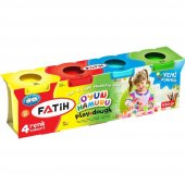 Fatih Oyun Hamuru 520gr 4 Renk Yeni Formül