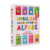 Eğitici Oyuncaklar İngilizce Alfabe Öğreniyorum Zeka Kartı