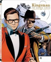 Kingsman Golden Circle Kingsman Altın Çember Steelbook Blu Ray