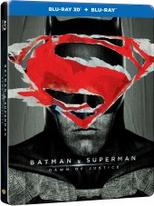 Batman V Superman Adaletin Şafaği Steelbook 3d+2d Blu Ray 2 Disk