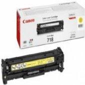 Canon Sarı 3000 Sayfa Lazer Toner Crg 718y