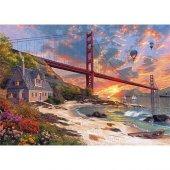Ks Games 500 Parça Puzzle Günbatımı Ve Golden Gate...