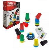 Süper Bardaklar Pratik Zeka Oyunu